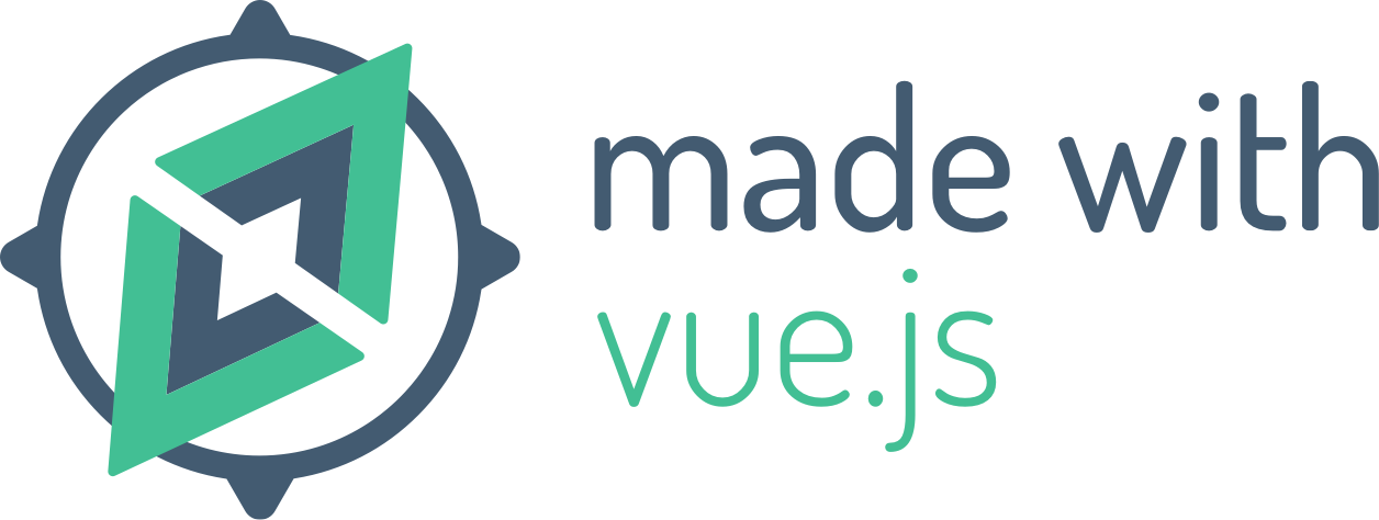 Made with Vue.js